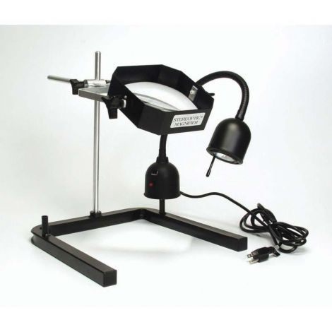 Stand-Mounted Heavy-Duty Magnifiers