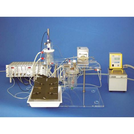 IPL-2 Core Isolated Perfused Lung System for Rat or Guinea Pig