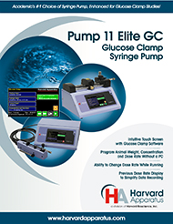 Pump 11 Elite Glucose Clamp Infusion System Brochure